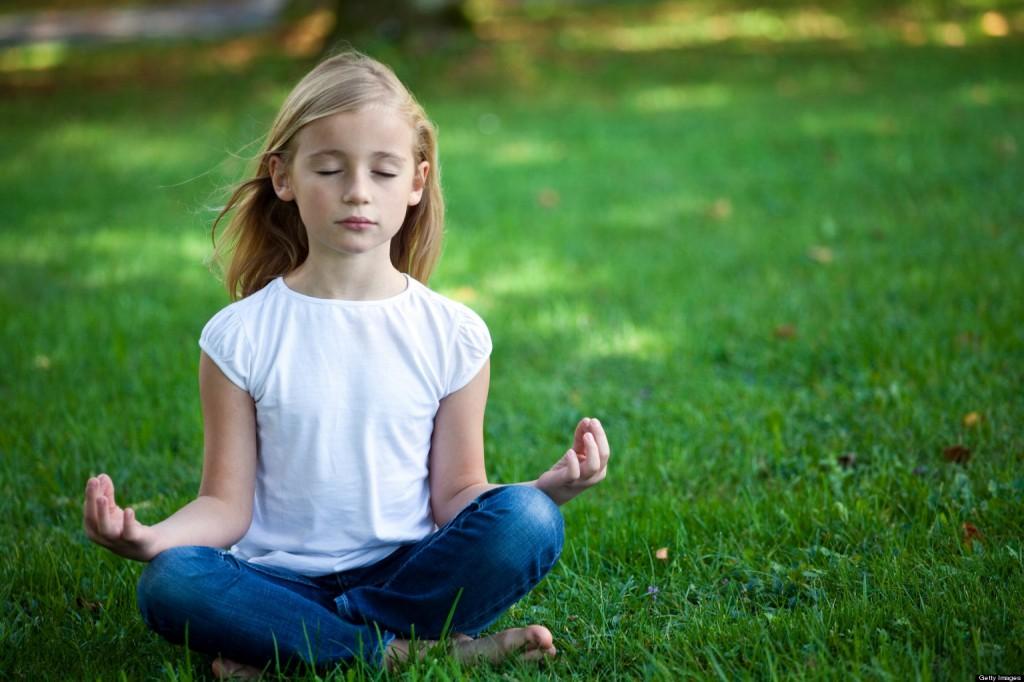 medytacja dziecka