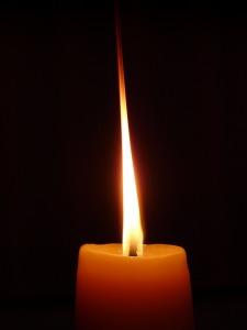 płomień-świecy