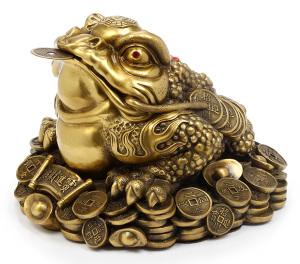 zaba symbol szczęscia feng shui